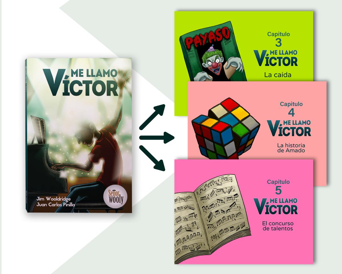 Victor Capitulo 3, 4, y 5