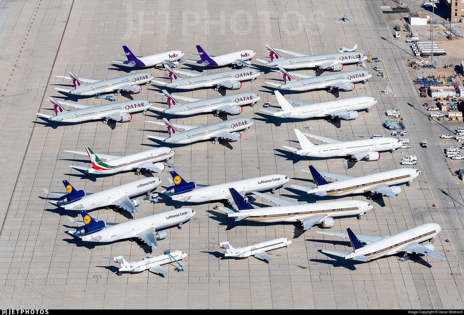 Victorville aircraft storage