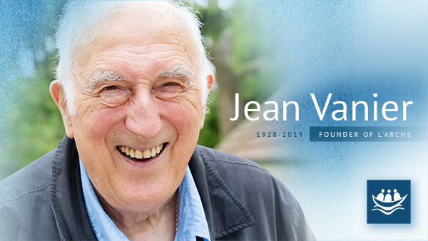 Jean Vanier - photo by Warren Pot