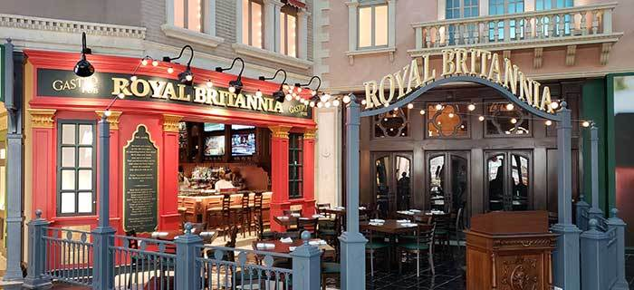 Royal Britannia Gastropub Now Open!