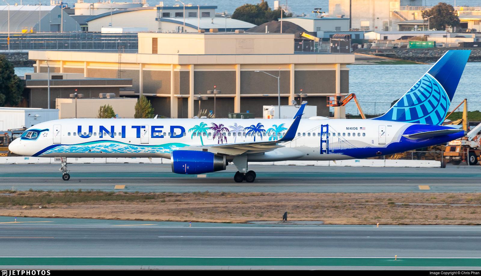United's California-themed Her Art Here 757