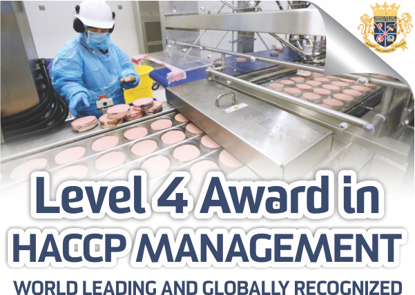 Food Safety Hazard & Risk Assessment Qualification to conduct
