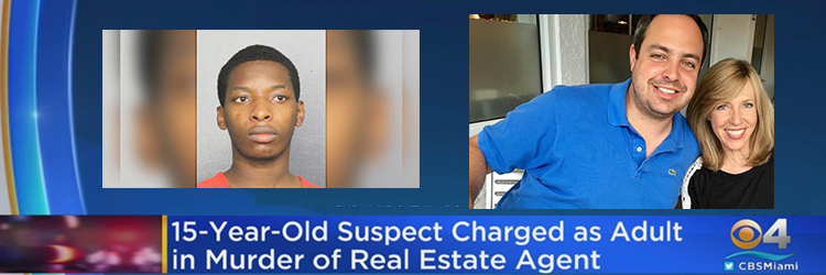 video of 15 year old real estate agent killing