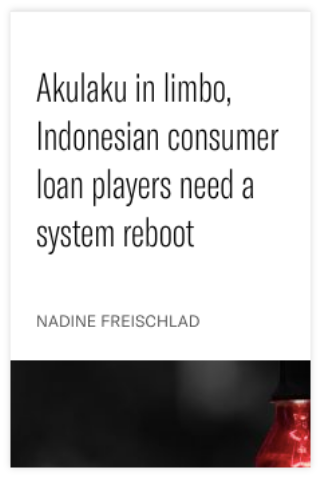 Akulaku in limbo, Indonesian consumer loan players need a system reboot