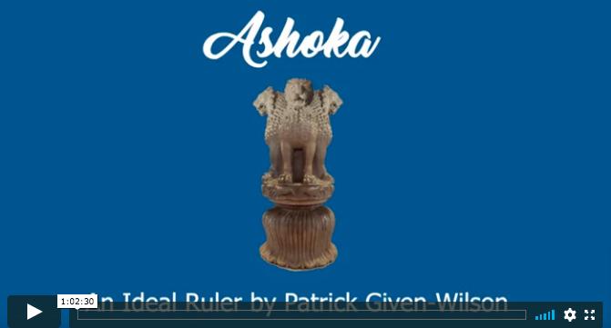 screen shot Ashoka video
