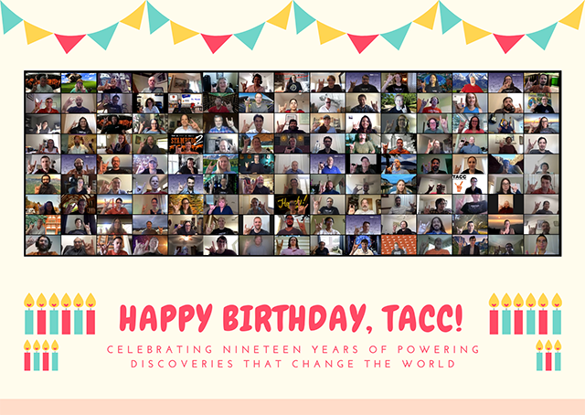 Happy 19th Birthday TACC!