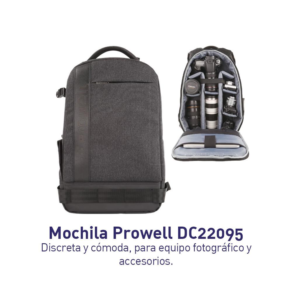 Prowell DC22095 - Mochila Cómoda y discreta para llevar tus equipos a todos lados