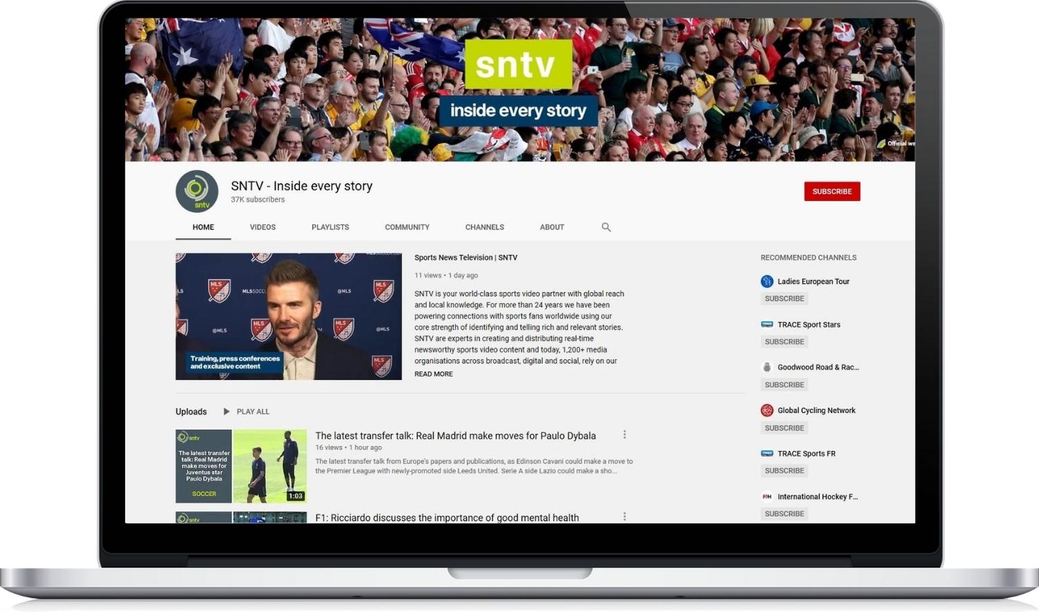 SNTV on YouTube