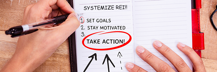 How To Systemize Real Estate Investing with Small Goals