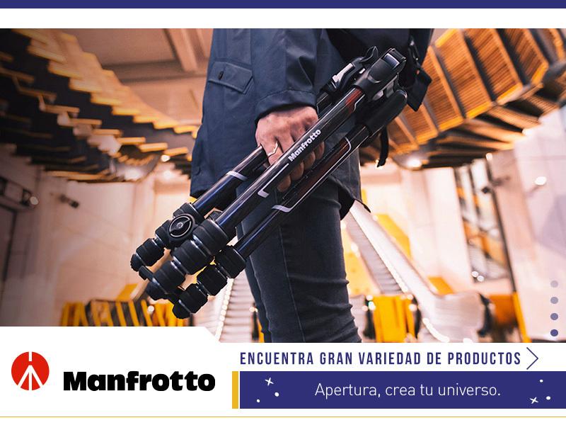 Encuentra la gran variedad de productos Manfrotto en Apertura.cl