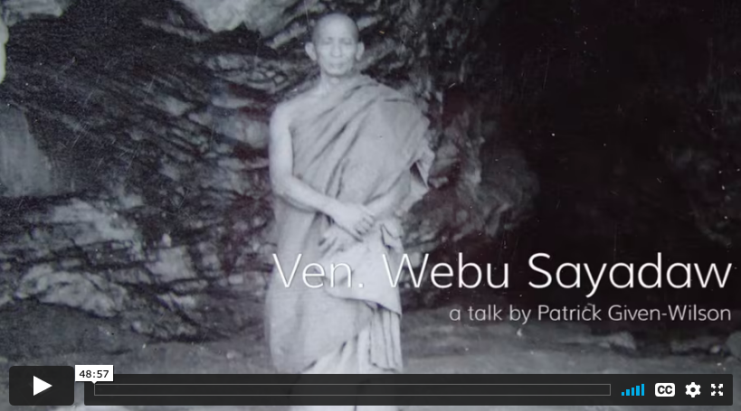 Talk by Patrick Given-Wilson