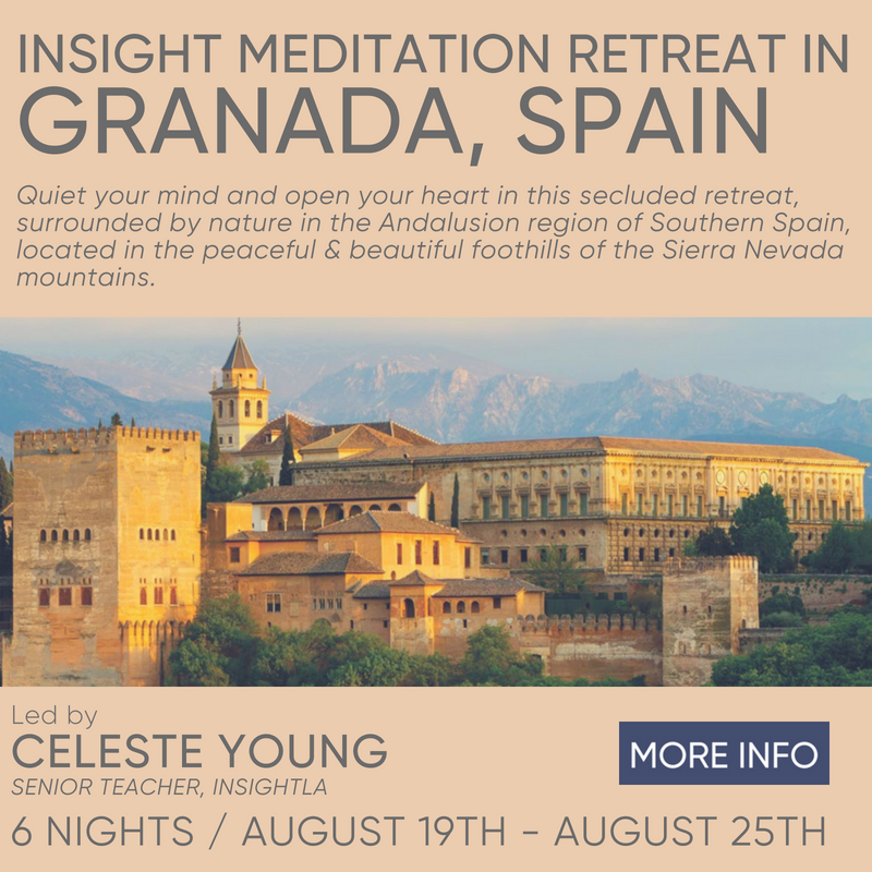 Residential Retreat in Granada Spain with Celeste Young August 19th