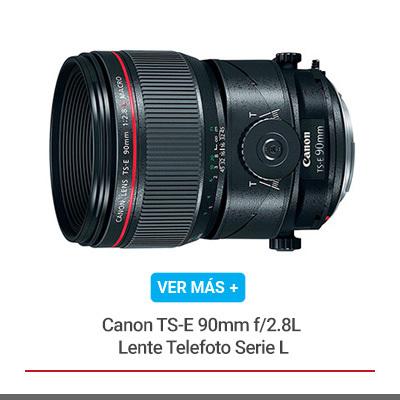 Canon TS-E 90mm f/2.8L Lente Telefoto Serie L