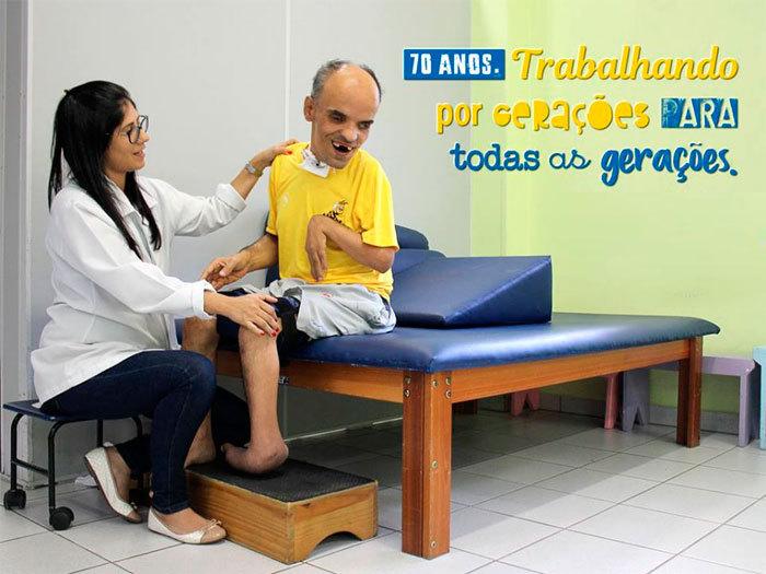 Atendimento de Fisioterapia