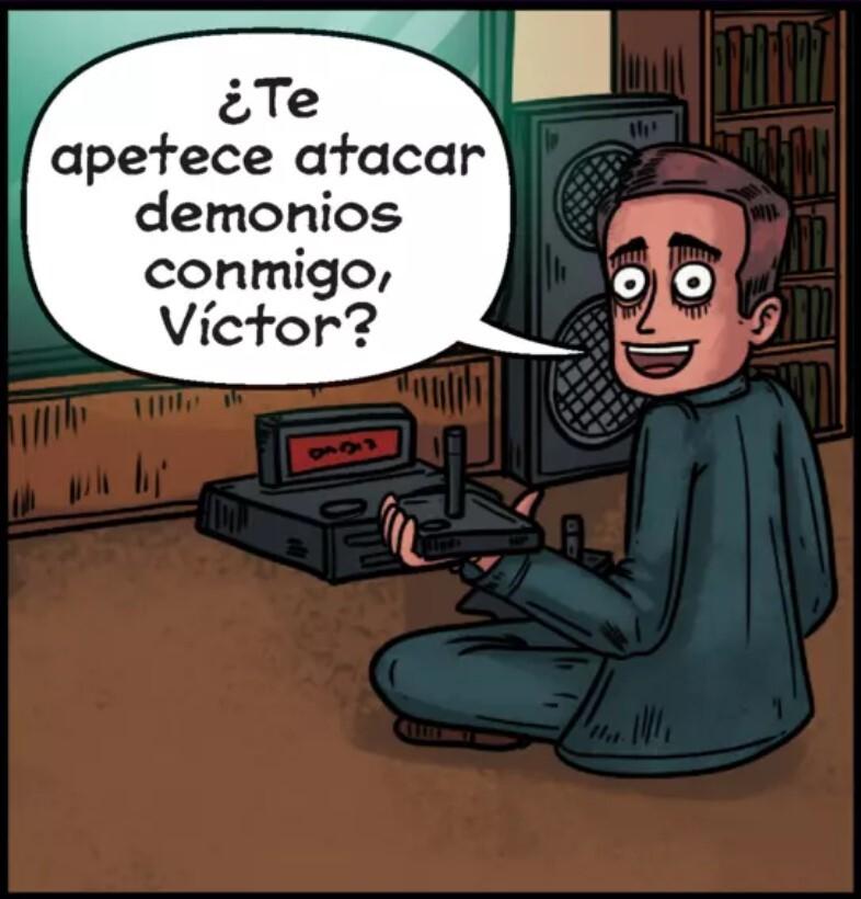 Intermediate Low example from Me llamo Víctor