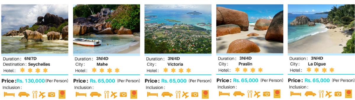 Seychelles Tour Packages