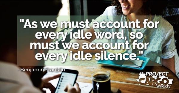 Week 16 quote of the week