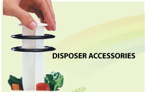 Save on Disposer  Accessories like the Mr. Scrappy Disposer Tool