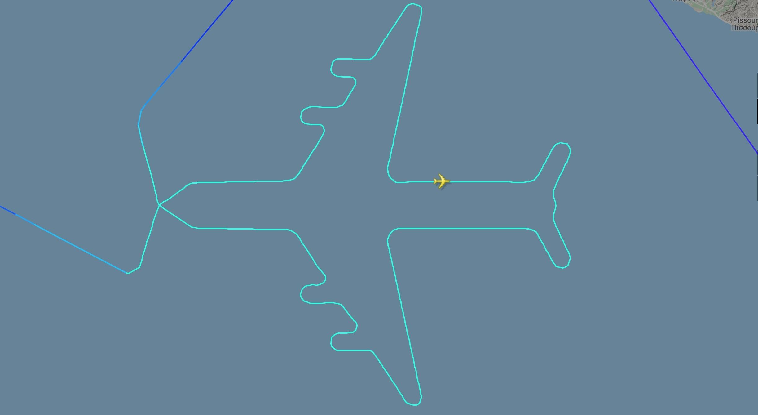 El Al's sky art 747