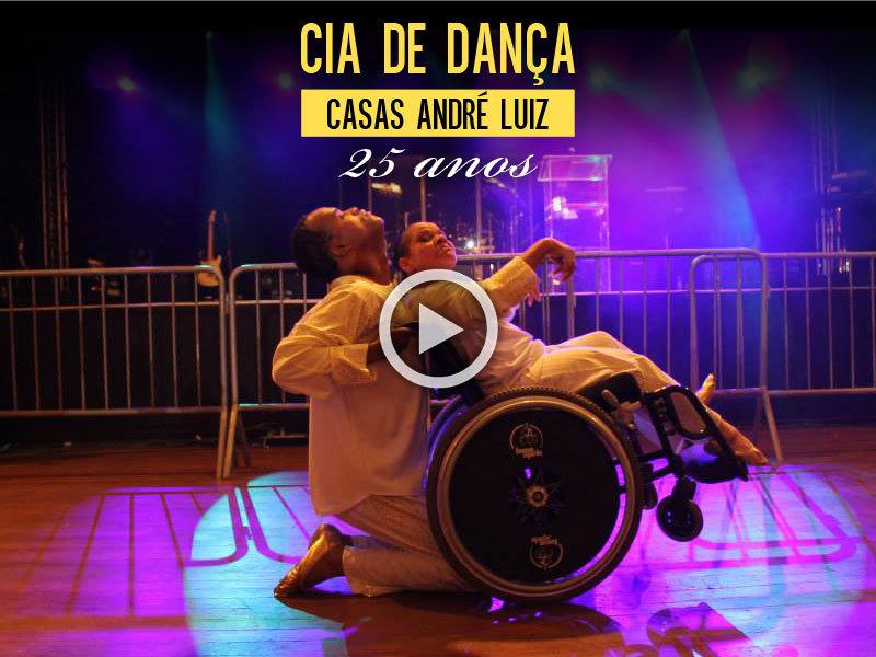 Cia de Dança Casas André Luiz - 25 anos