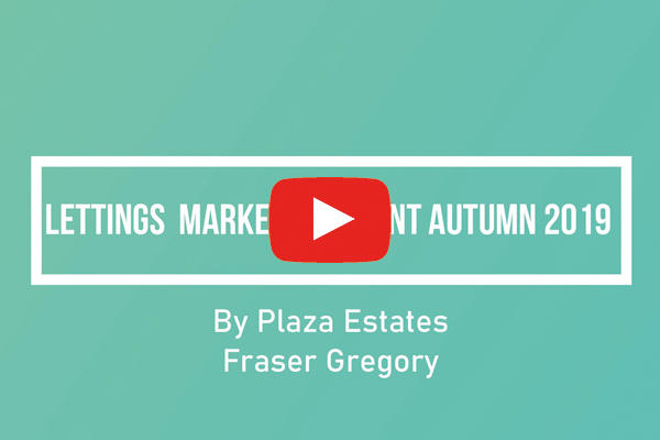 Lettings Market Comment Autumn 2019 by Fraser Gregory