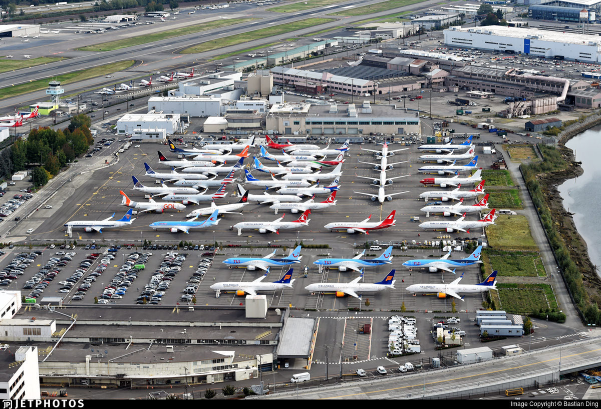 Stored 737 MAX