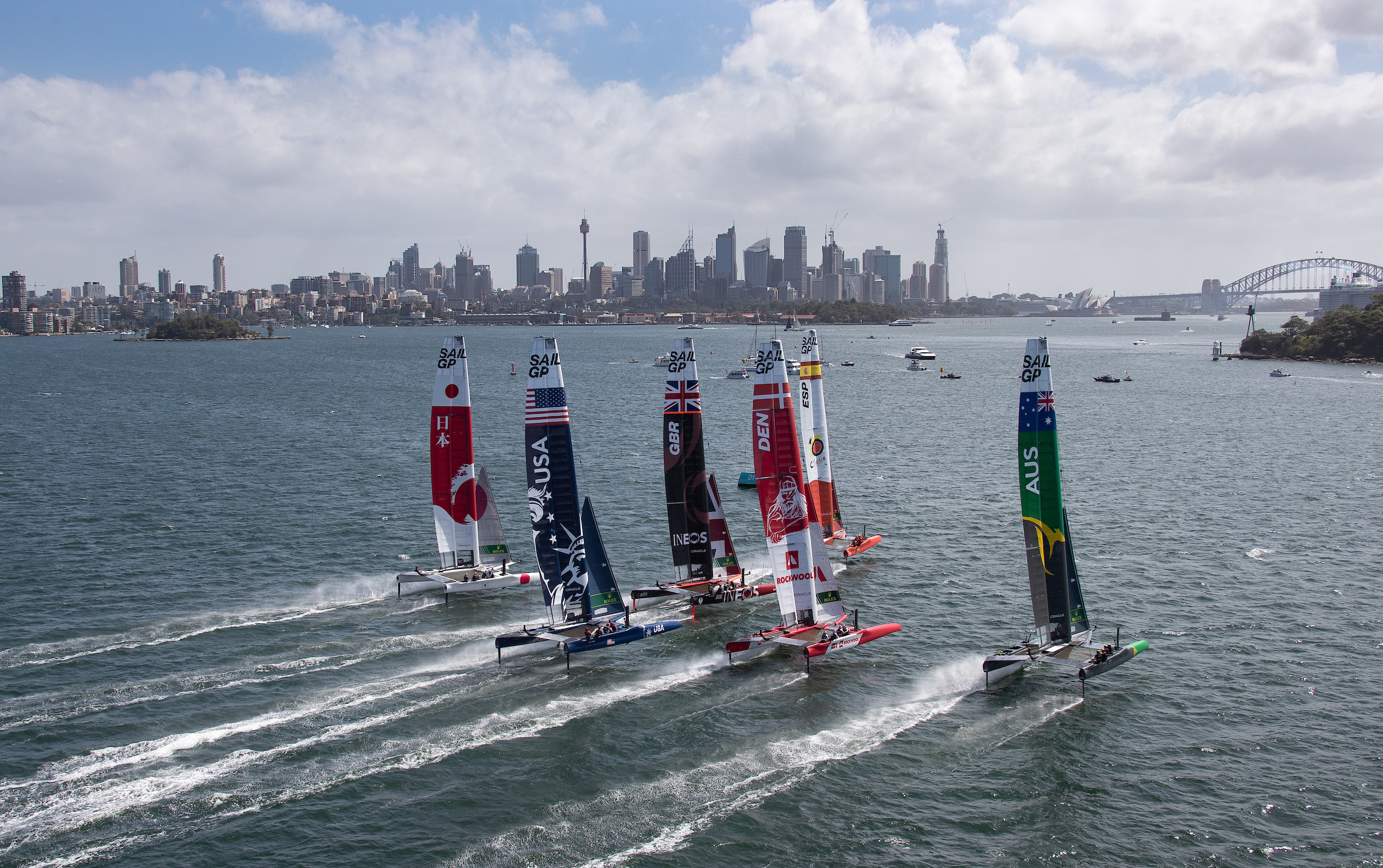 sntv partners with SailGP to provide global video distribution