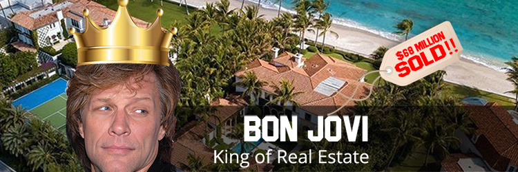 Bon Jovi Racks up $63 Million in Real Estate Deals