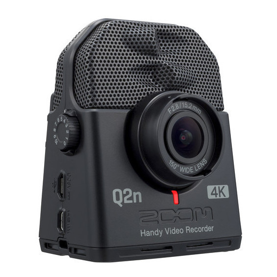 Cámara Zoom Q2N-4K la cámara perfecta para un buen audio y video en conciertos y situaciones similares