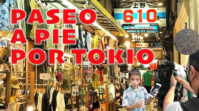 PASEO A PIE POR TOKIO