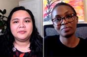 Frontera Fellows 2020-2021: Maureen Kitheka and Jeane Camelo