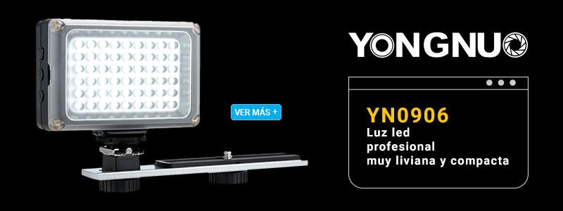Yongnuo Lampara Led YN-0906 pequeña y liviana