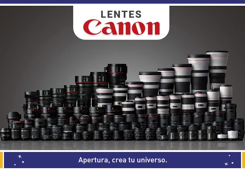 Crea tu Universo con lentes Canon