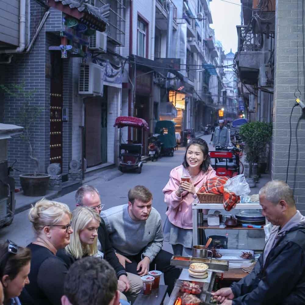 Xian Food Tour by Tuktuk