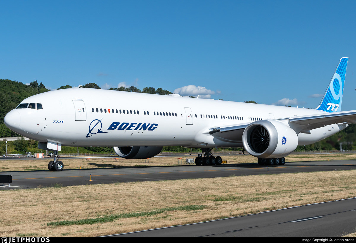 Boeing 777X test aircraft