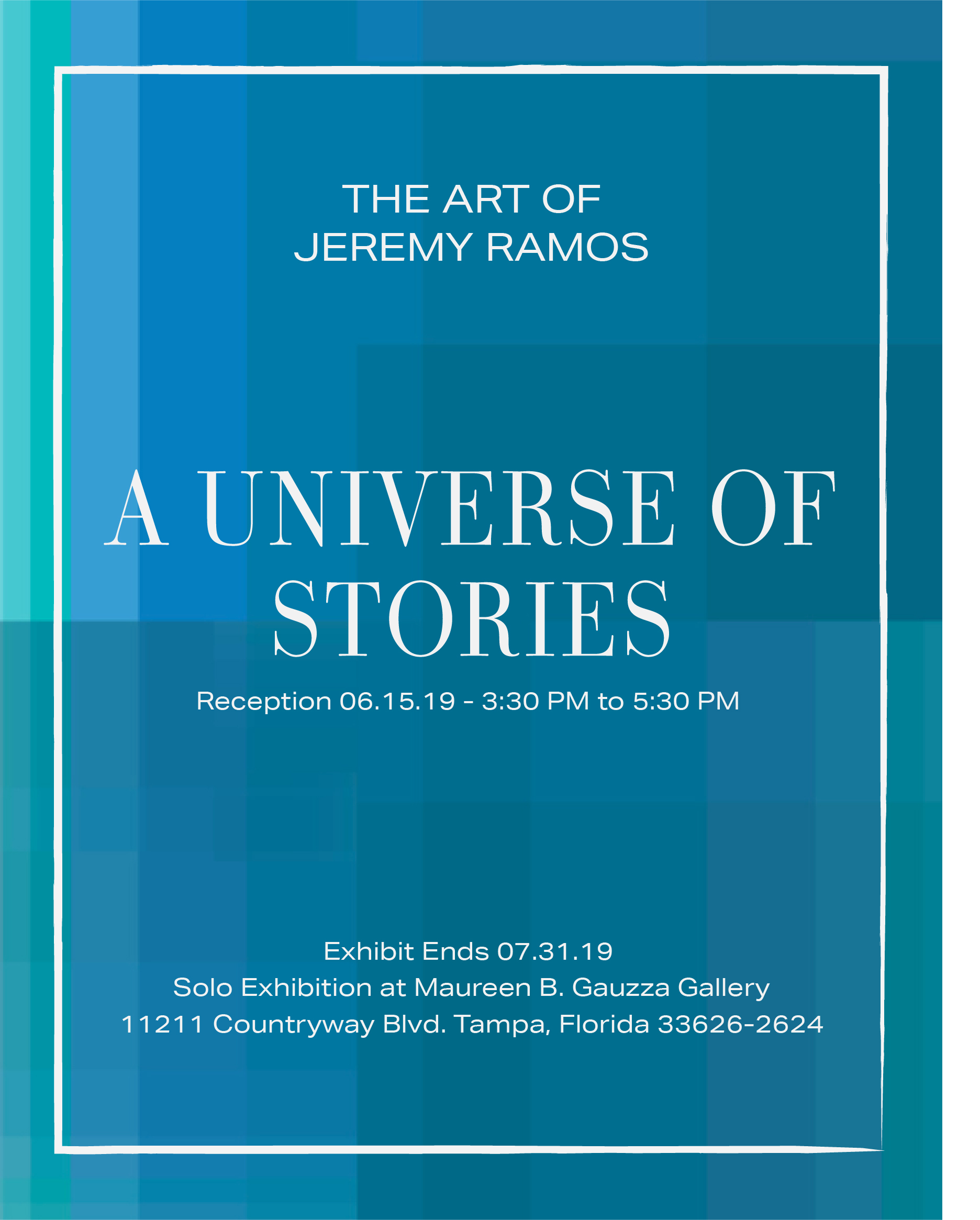 Solo Show: A UNIVERSE OF STORIES