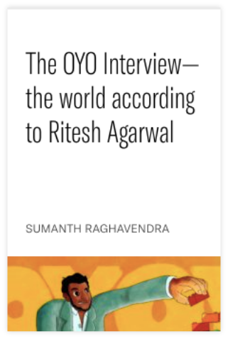 The OYO Interview—the world according to Ritesh Agarwal