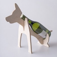 Dog Wine Holder