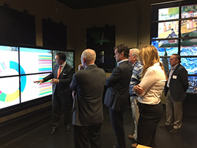 International Board of Advisors Visits TACC Vislab