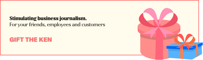 Stimulating business journalism. For your friends, employees and customers
