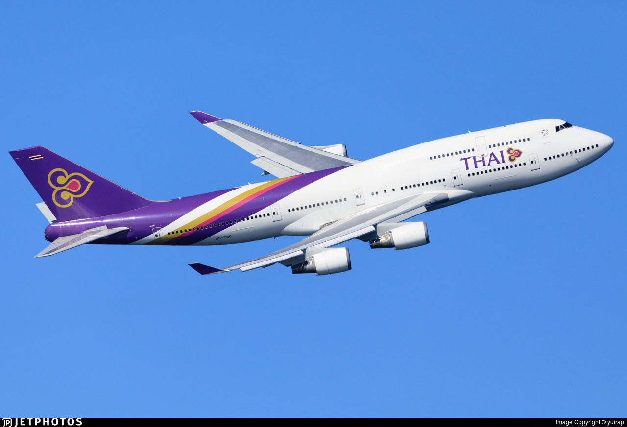 Thai Airways 747
