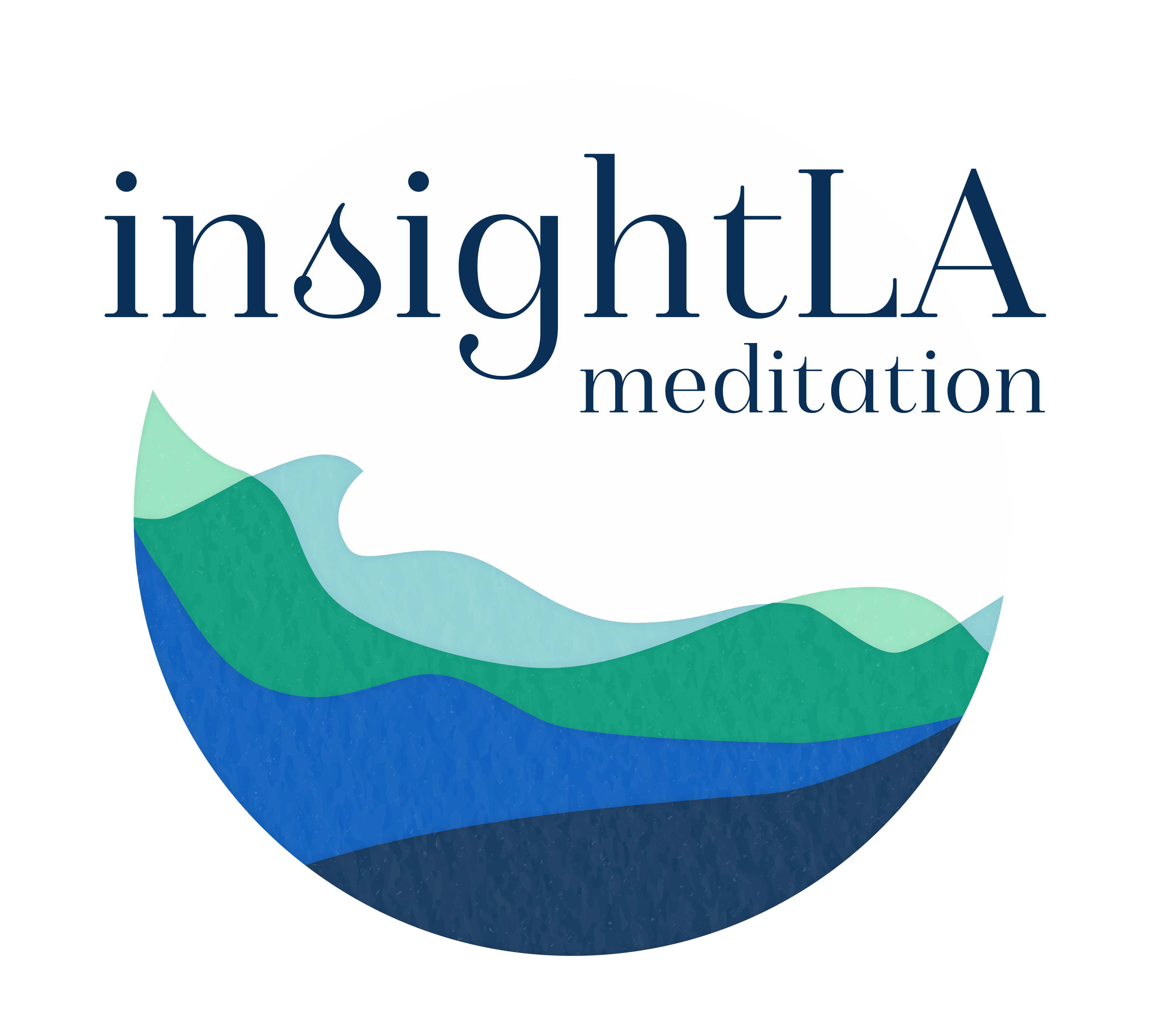 InsightLA logo. Calming Minds, Opening Hearts, Changing the World
