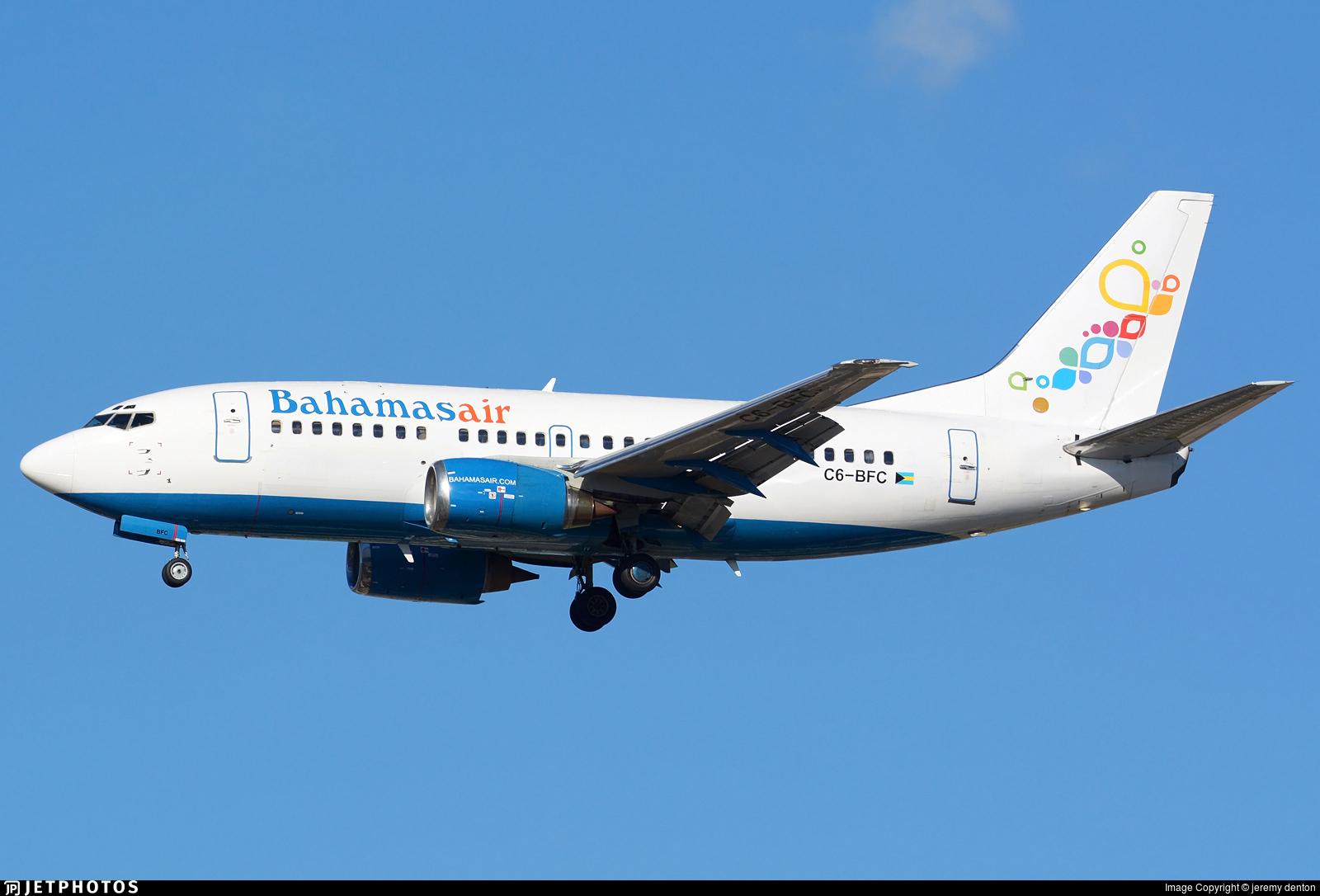 Bahamasair 737-500