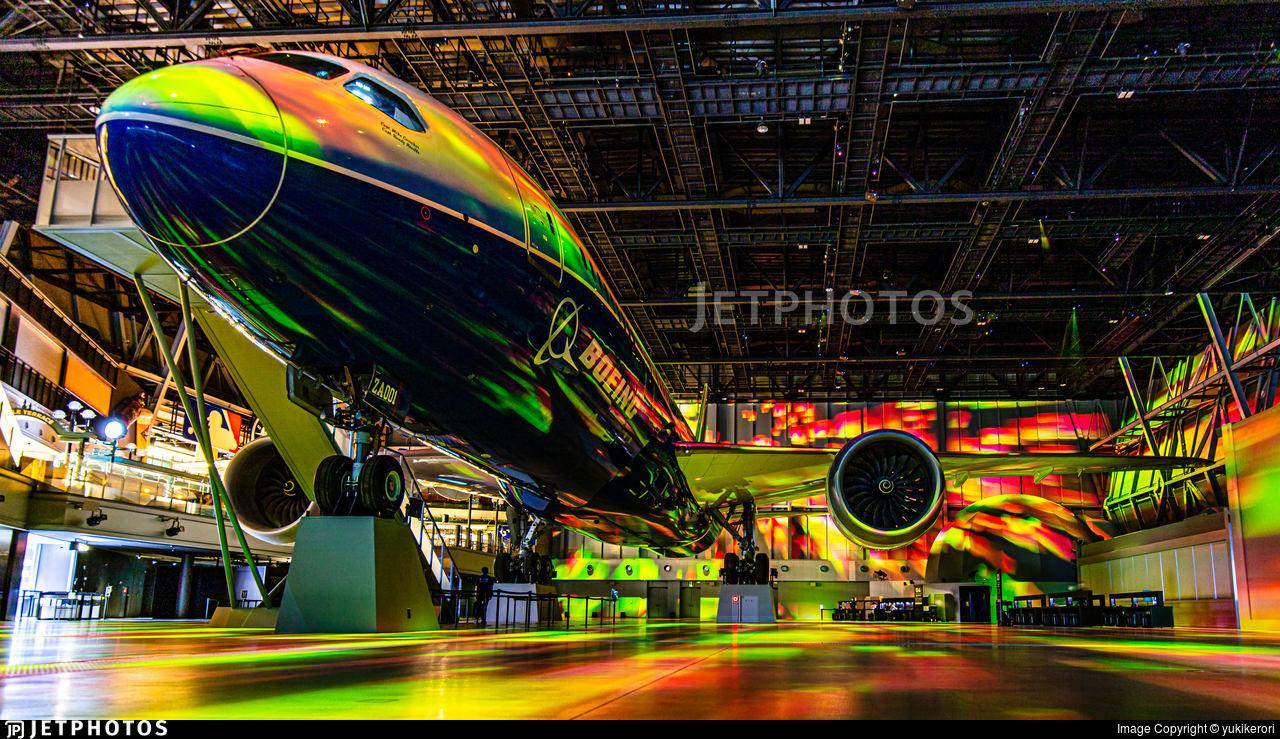 Boeing 787 in Nagoya