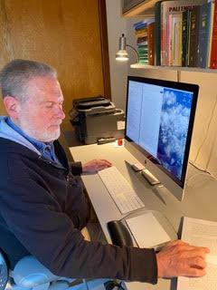 Pariyatti copy editor at work