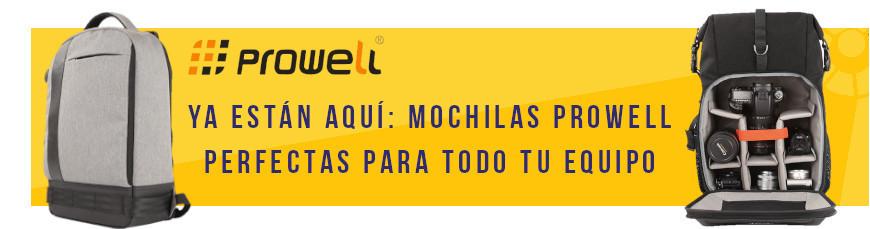 Ya están aquí: Mochilas Prowell, perfectas para todo tu equipo