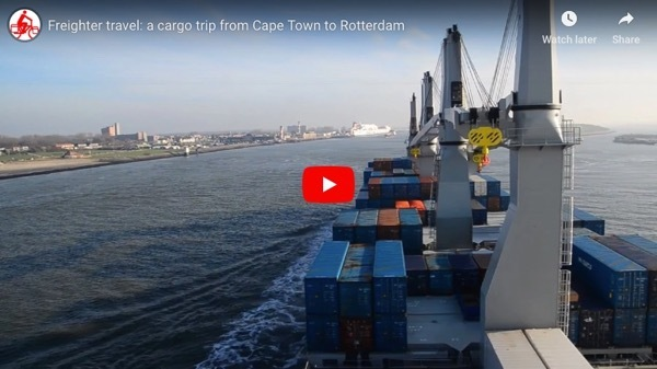 Freighter Travel Cape Town to Rotterdam