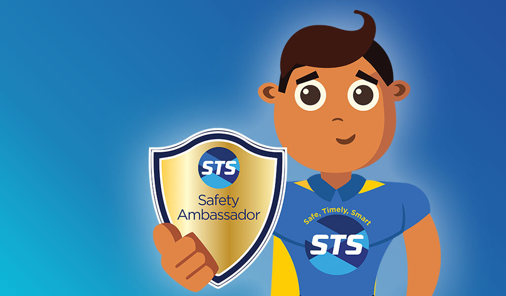 Find out how your child can be crowned a 'Bus Safety Ambassador'.